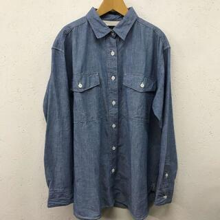 EDIT.FOR LULU - 美品 ルル オンザ ブリッジ オーバーサイズ シャンブレー シャツ サイズ 34