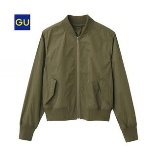 ジーユー(GU)の新品未使用 gu 完売商品 ma-1(ブルゾン)
