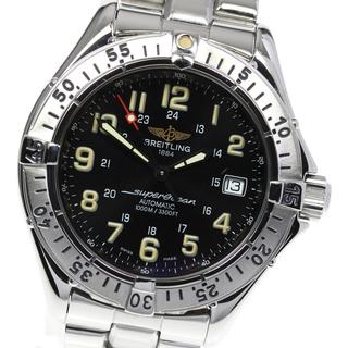 ブライトリング(BREITLING)のブライトリング スーパーオーシャン  A17040 自動巻き メンズ 【中古】(腕時計(アナログ))