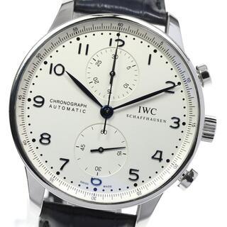 インターナショナルウォッチカンパニー(IWC)のIWC ポルトギーゼ クロノグラフ IW371446 メンズ 【中古】(腕時計(アナログ))