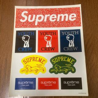シュプリーム(Supreme)の新品 レア supreme Box logo ステッカーシート(ノベルティグッズ)
