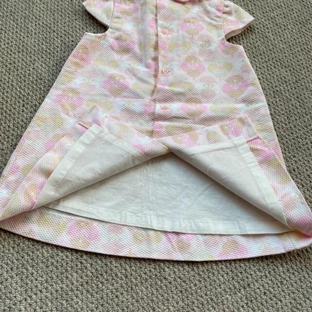 ZARA(ザラ)の80 ZARA ザラ ワンピース キッズ/ベビー/マタニティのベビー服(~85cm)(ワンピース)の商品写真