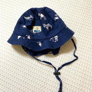 アカチャンホンポ - 日除けつきキッズ帽子 48cm