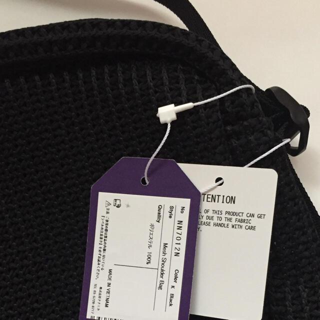 THE NORTH FACE(ザノースフェイス)の新品未使用 ノースフェイスパープルレーベル メッシュショルダーバッグ ブラック  レディースのバッグ(ショルダーバッグ)の商品写真