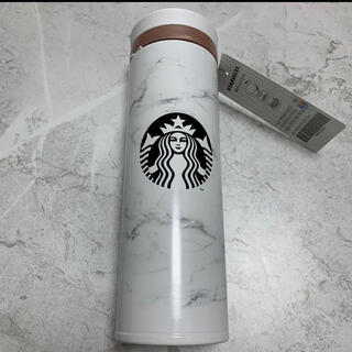 スターバックスコーヒー(Starbucks Coffee)のスターバックス マーブルホワイトサーモス 500ml 大理石 タンブラー(タンブラー)