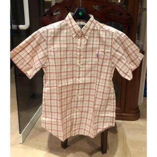 ポロラルフローレン(POLO RALPH LAUREN)の新品 ラルフローレン 半袖チェックシャツ(シャツ/ブラウス(長袖/七分))