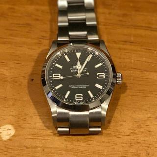 自動巻き 腕時計  エクスプローラー タイプ