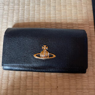 ヴィヴィアンウエストウッド(Vivienne Westwood)のヴィヴィアンウエストウッドブラック長財布中古(財布)