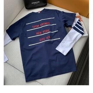 トムブラウン(THOM BROWNE)のThom Browne  限定モデルの長袖tシャツ B-1041(Tシャツ(長袖/七分))