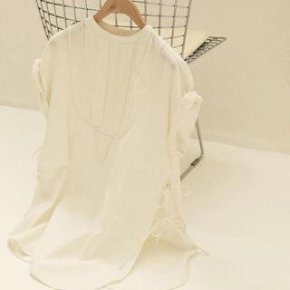 TODAYFUL - 美品 TODAYFUL トゥデイフル ハーフスリーブドレスシャツ