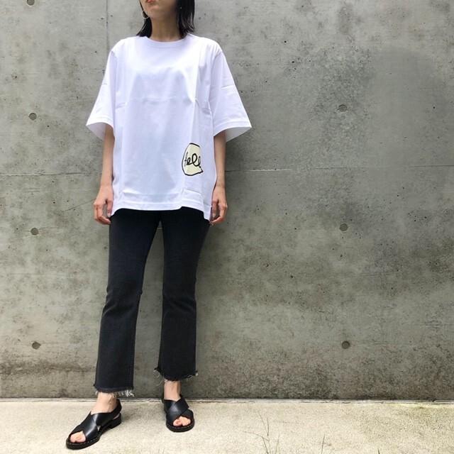 MADISONBLUE(マディソンブルー)のMADISONBLUE HANA オーバーサイズ Tシャツ レディースのトップス(Tシャツ(半袖/袖なし))の商品写真