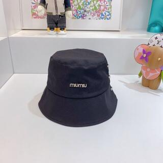 ミュウミュウ(miumiu)のミュウミュウ miumiu 帽子 ハット(ハット)