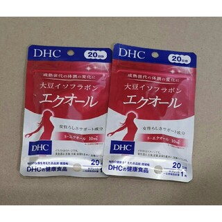 DHC - DHC 大豆イソフラボン エクオール 20日分 2袋