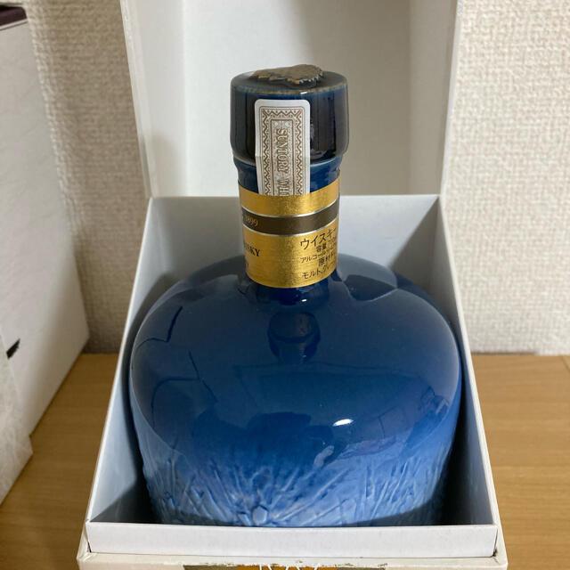 サントリー(サントリー)のサントリーウイスキー感謝百年 100周年記念陶器ボトル 佐治敬三  食品/飲料/酒の酒(ウイスキー)の商品写真