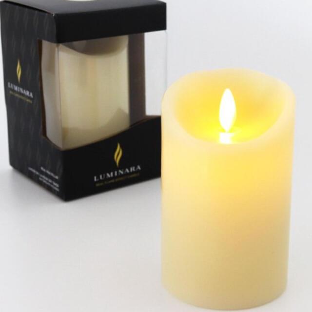 LEDキャンドル ルミナラ ピラー 3×4インチ コスメ/美容のリラクゼーション(キャンドル)の商品写真