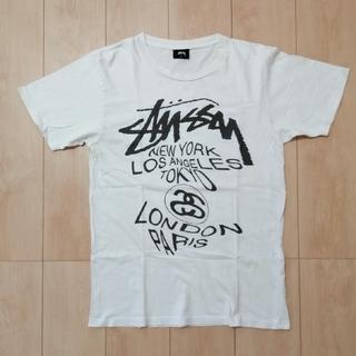 STUSSY - 【 STUSSY 】ステューシー Tシャツ ワールドツアー・レアデザイン
