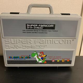スーパーファミコン - スーパーマリオ ファミコン ケース スーパーマリオワールド