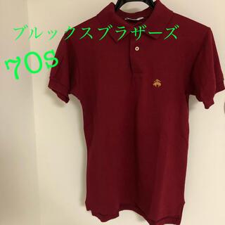 ブルックスブラザース(Brooks Brothers)の超希少! ブルックスブラザーズ golden fleece70s ポロシャツ(ポロシャツ)