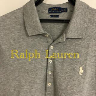 ポロラルフローレン(POLO RALPH LAUREN)の美品!ラルフローレン ポロシャツ slim fit ビジネスカジュアル(シャツ/ブラウス(半袖/袖なし))