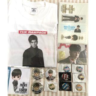 ザランページ(THE RAMPAGE)の長谷川慎    BATTLE OF TOKYO Tシャツ(ミュージシャン)