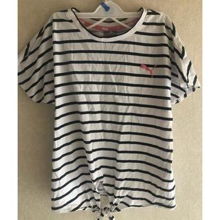 プーマ(PUMA)のプーマ♡前結びTシャツ♡サイズ140(Tシャツ/カットソー)