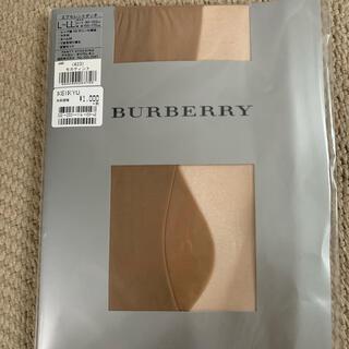 BURBERRY - ☆新品未使用☆バーバリーストッキング(L〜LL)