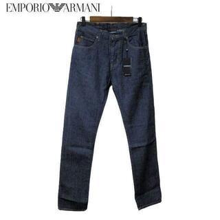 エンポリオアルマーニ(Emporio Armani)の新品タグ付 アルマーニ EMPORIO ARMANI J45ジーンズ スリム S(デニム/ジーンズ)