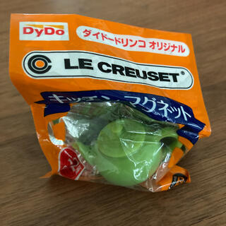 ルクルーゼ(LE CREUSET)のル・クルーゼ キッチンマグネット ティーポット ライトグリーン(ノベルティグッズ)