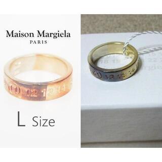 マルタンマルジェラ(Maison Martin Margiela)の新品箱入り メゾン マルジェラ 11 ナンバーリング シルバー925 Lサイズ(リング(指輪))