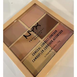 エヌワイエックス(NYX)のNYX コレクトコントュアーパレット3CP01(コンシーラー)