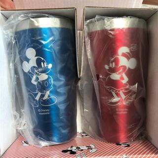 Disney - 【値下げ】ミッキー&ミニー メタルサーモタンブラー 340ml  未使用品