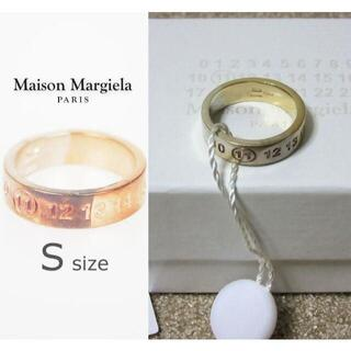 マルタンマルジェラ(Maison Martin Margiela)の新品箱入り メゾン マルジェラ 11 ナンバーリング シルバー925 Sサイズ(リング(指輪))