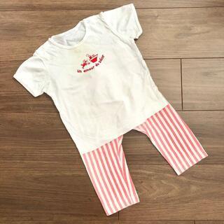 ベビーディオール(baby Dior)のセット売り♡babydior×UNIQLO Tシャツ レギンス(Tシャツ/カットソー)
