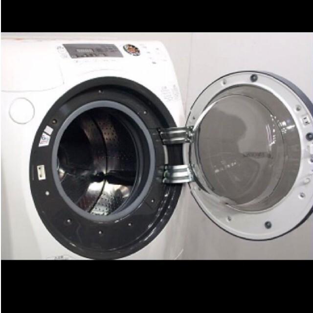 東芝(トウシバ)のドラム式洗濯機 東芝 ZABOON 大容量9キロ 乾燥6キロ スマホ/家電/カメラの生活家電(洗濯機)の商品写真