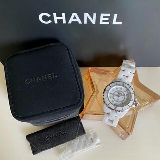 シャネル(CHANEL)のシャネル J12 12pダイヤ 33mm(腕時計)