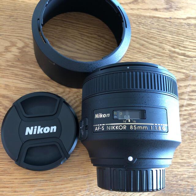 Nikon(ニコン)のNikon AF-S NIKKOR 85mm1.8G スマホ/家電/カメラのカメラ(その他)の商品写真