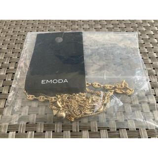 エモダ(EMODA)の新品未開封エモダEMODAコンビチェーンネックレス ゴールド(ネックレス)