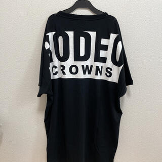 RODEO CROWNS WIDE BOWL - ロデオクラウンズ ボックスロゴTシャツ ワンピース