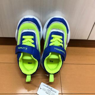 ニシマツヤ(西松屋)の西松屋 スニーカー キッズ 新品未使用 15cm(スニーカー)