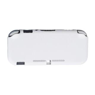 ニンテンドースイッチ(Nintendo Switch)のホワイト 白 SwitchLite ハードカバー スイッチ ライト(その他)