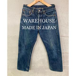 ウエアハウス(WAREHOUSE)のWAREHOUSE LOT1000 セルビッチデニム!日本製!(デニム/ジーンズ)