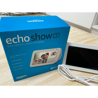 エコー(ECHO)のエコーショー5 Amazon アマゾン アレクサ(スピーカー)