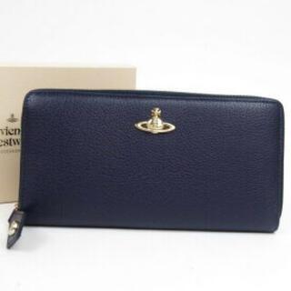 ヴィヴィアンウエストウッド(Vivienne Westwood)のVivienne Westwood ヴィヴィアンウエストウッド 長財布 ネイビー(財布)