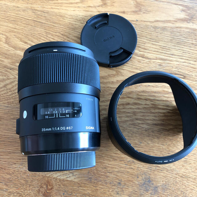 SIGMA(シグマ)のSIGMA 35mm 1:1.4DG HSM for Nikon スマホ/家電/カメラのカメラ(レンズ(単焦点))の商品写真
