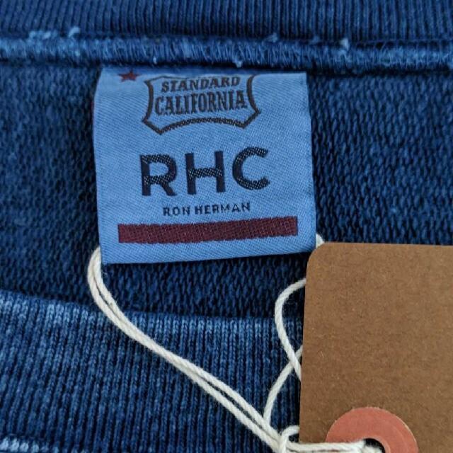 Ron Herman(ロンハーマン)のRHCロンハーマン✕STANDARD CALIFORNIAインディゴスウェット メンズのトップス(スウェット)の商品写真