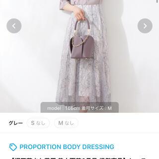 PROPORTION BODY DRESSING - プロポーション スカート
