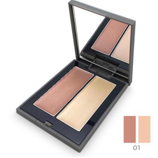 THREE(スリー)のTHREE シマリング グロー デュオ コスメ/美容のベースメイク/化粧品(チーク)の商品写真