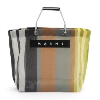 マルニ(Marni)のマルニ フラワーカフェ メッシュ  マルチカラー レディース トートバッグ(トートバッグ)