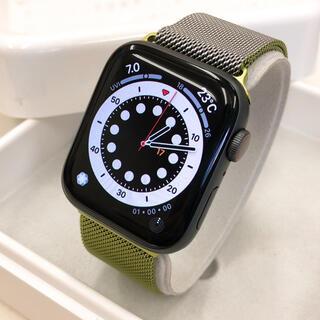 アップルウォッチ(Apple Watch)のApple Watch series4 セルラー アップルウォッチ 44mm(腕時計(デジタル))