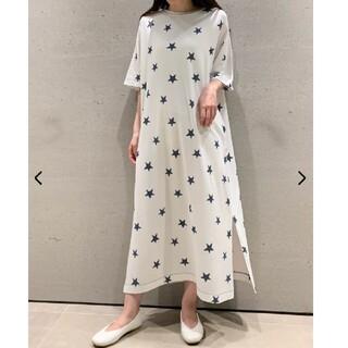 gelato pique - ジェラートピケ♡スターモチーフドレス